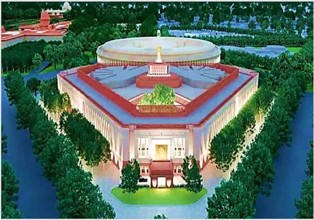 ভারতের নতুন সংসদ ভবনের ভিত্তিপ্রস্তর স্থাপন